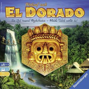 Nominiert für das Spiel des Jahres 2017: Wettlauf nach El Dorado (Bildquelle: Ravensburger)