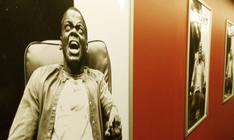 Get Out Poster Kino Social Movie Night - politische Horrorfilme, gesellschaftskritische Gruselfilme