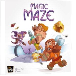 Nominiert für das Spiel des Jahres 2017: Magic Maze (Bildquelle: Pegasus)