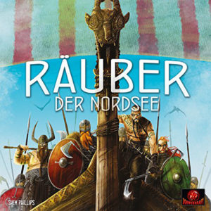 """Nominiert für das Spiel des Jahres 2017 in der Kategorie """"Kennerspiel des Jahres 2017"""": Räuber der Nordsee (Bildquelle: Schwerkraft Verlag)"""