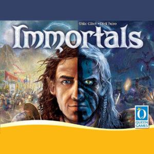Auf der Messe Spiel17 in Essen gab es wieder zahlreiche Neuheiten und Highlights aus der Welt der Brettspiele und Gesellschaftsspiele zu bestaunen - wie zum Beispiel das Strategiespiel Immortals