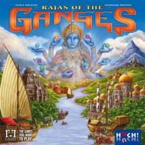 Auf der Messe Spiel17 in Essen gab es wieder zahlreiche Highlights aus der Welt der Brettspiele und Gesellschaftsspiele zu bestaunen - wie zum Beispiel das strategische Brettspiel Rajas of the Ganges